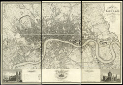 Map of London, from an actual survey made in the years 1824, 1825 & 1826